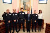 Tres nuevos Cabos de la Policía Local de Alcantarilla toman posesión de su cargo