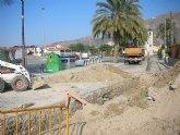 Comienzan las obras en la calle Ermita de El Siscar, las cuales evitarán las inundaciones