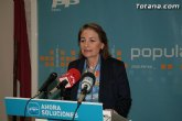 El PP de Totana pide a Retegui que exija responsabilidades al candidato a la alcaldía de Totana y al secretario de política territorial del PSRM