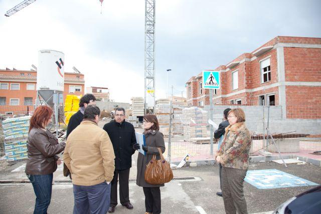 Blaya y Castaño visitan las obras sociales del barrio de San José - 1, Foto 1