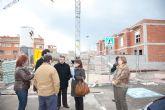 Blaya y Castaño visitan las obras sociales del barrio de San Jos�