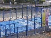 El centro municipal de deporte y salud de Totana arranca su programa de formación en pádel