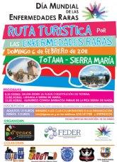 """La """"Ruta Turística por las Enfermedades Raras"""" tendrá lugar el próximo 6 de febrero"""