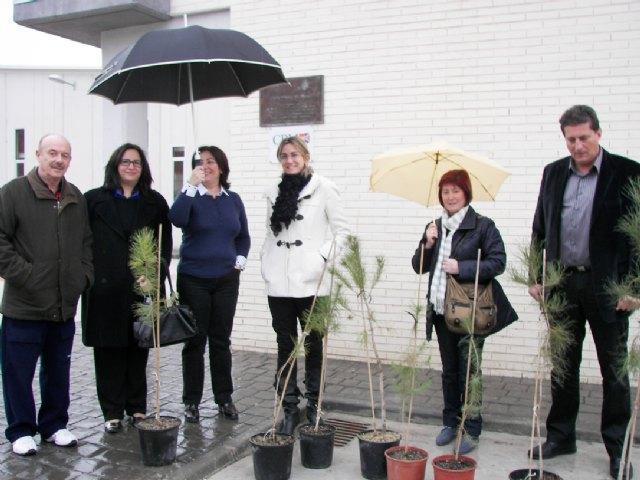 Entrega de pinos a los colegios para su plantación con motivo del Día Internacional de los Bosques - 1, Foto 1