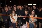 El Alcalde acompaña a los socios de la Peña Las Tenajas en la inauguración de su nueva sede