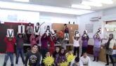El colegio torreño 'Monte Azahar' celebra el 'Día de la Paz' con un divertido 'lipdub'