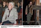 Ya se conoce el Nazareno de Honor y el pregonero de la Semana Santa 2011