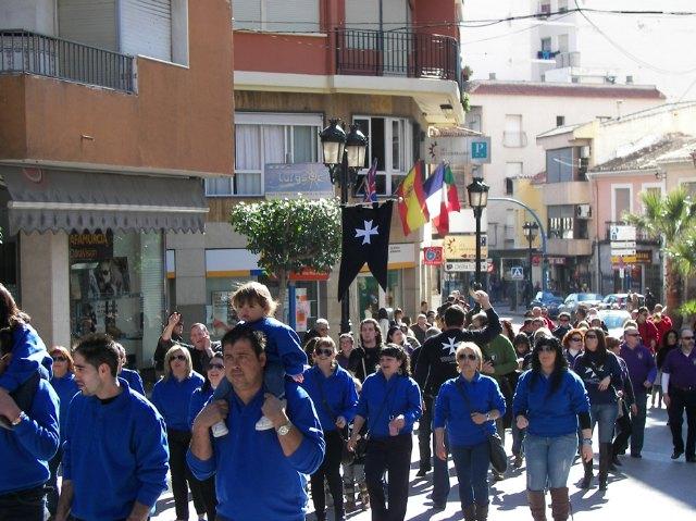 200 festeros de Moros y Cristianos de Archena celebraron su Medio Año Festero este fin de semana - 1, Foto 1