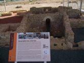 Cerca de un centenar de personas han visitado el yacimiento de Los Villaricos en su primer mes abierto al público