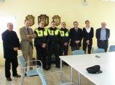 El Director de Seguridad y el Alcalde asisten a la toma de posesión de dos nuevos cabos de la Policía Local de Archena