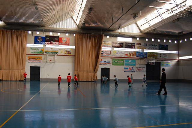 Comienza la liga interna de las Escuelas Deportivas Municipales de fútbol sala 2011, en Alguazas - 2, Foto 2