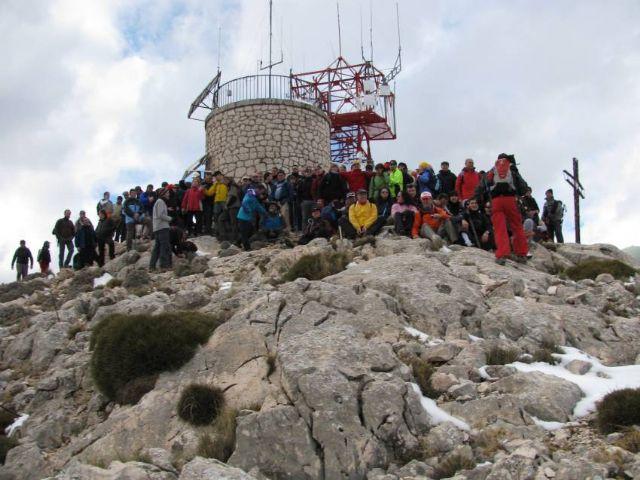 El pasado domingo el club senderista de Totana celebró su ruta más entrañable: La Subida al Morrón de Espuña, Foto 3