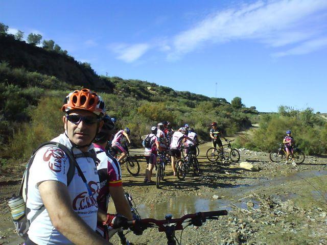 La concejalía de Deportes organiza el próximo domingo 6 de febrero una ruta de bicicleta de montaña hasta Mazarrón, Foto 1
