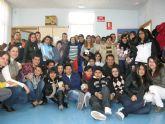 Los alumnos del IES 'Antonio Hellín' visitan el Centro Ocupacional