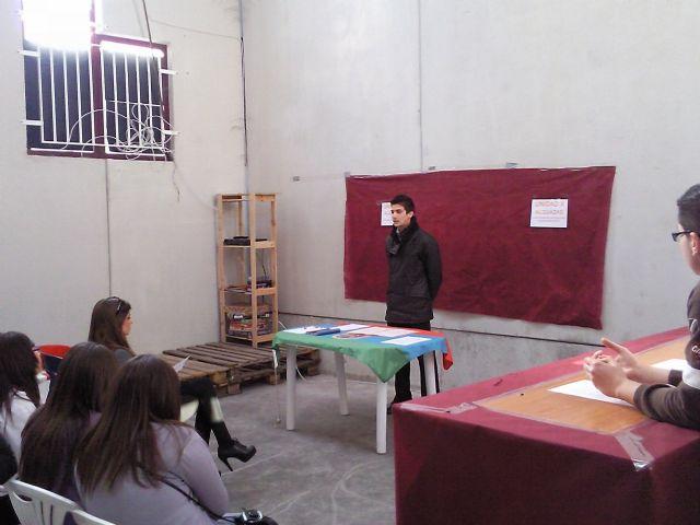 El Presidente de JOVAL se da un baño de masas con los jóvenes de Alguazas - 2, Foto 2