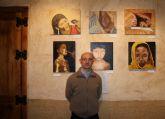 El pintor oriolano Luís Cases retrata en 'Yunteros' la desolación de los más débiles