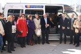 Obras Públicas y el Ayuntamiento de Puerto Lumbreras financian un vehículo adaptado para facilitar la movilidad de personas con alzhéimer