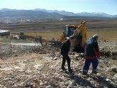 Inicio obras acondicionamiento caminos rurales en Moratalla