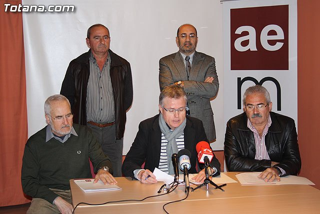 Press AEMC political groups in the city of Totana