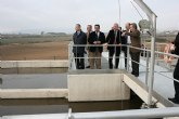 Valcárcel resalta que con la puesta en marcha de la planta de Cañada de Gallego 'se cierra el ciclo de la depuración de aguas residuales'