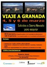 El Ayuntamiento organiza un viaje de ida y vuelta a Granada a un precio reducido