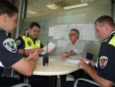 Más del 75 por ciento de los pinatarenses valoran positivamente la intervención de la Policía Local