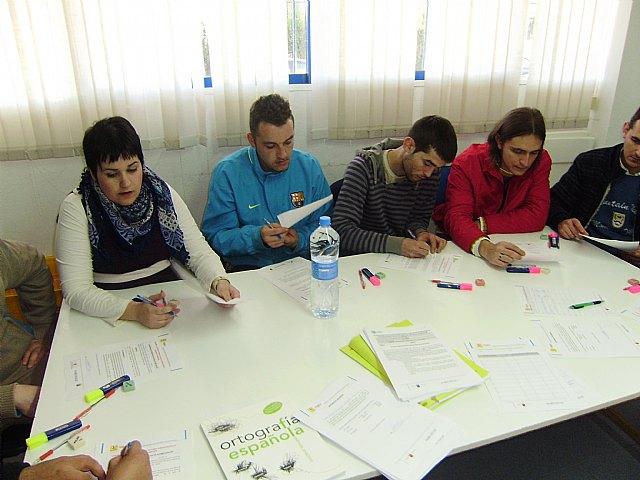 "More than 40 people start their training in literacy workshop project Gelem-Gelem """