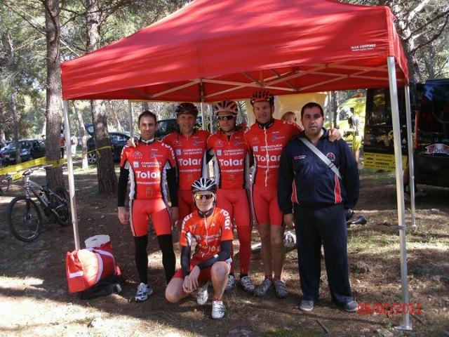 First podium of the season for Santa Eulalia CC MTB open in Cartagena