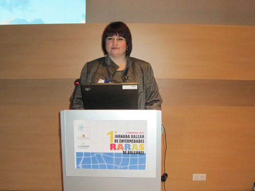 Genes and FEDER D'participate in the first day of rare diseases Baleares