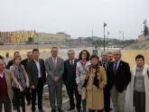 Se inauguran las obras de rehabilitación de las sendas fluviales en la rambla de los Calderones