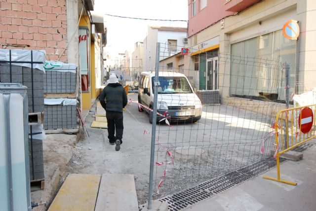 The Department of Planning performs the works for completion of street paving Macario