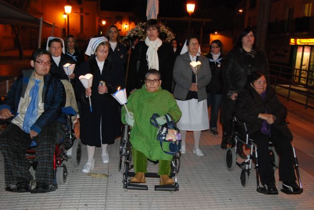 City officials attending the traditional torchlight procession