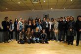 La Alcaldesa recibe a un grupo de estudiantes franceses de intercambio en el municipio