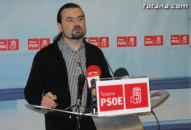 Press conference PSOE Totana 15/02/2011