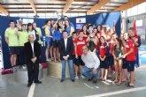 Un nadador pachequero consigue la mejor marca en el Campeonato Regional de Natación de Invierno