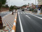 Inaugurada la Avenida del Mediterráneo de La Unión tras su total remodelación