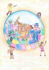 Mar�a Blaya Acosta, ganadora del 'I concurso del Cartel de Carnaval'