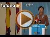 Rueda de prensa PP Totana. Actualidad política. 15/02/2011