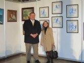 Una veintena de artistas locales expone en la ´Semana de las artes plásticas´ de La Unión