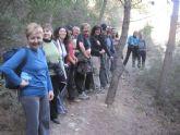 Cincuenta senderistas estrenan, de la mano de la concejalía de Deportes, el sendero PR-MU-69
