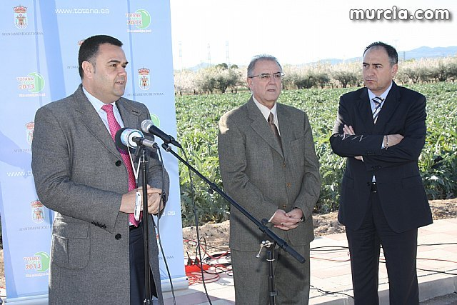 Inauguration of the implementation of a medium voltage line