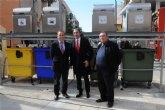 La Comunidad cede dos equipos de contenedores soterrados al Ayuntamiento de Beniel