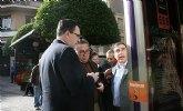 Obras Públicas instala en Molina de Segura paradas ecológicas que permiten conocer la hora de llegada exacta del autobús a través del móvil