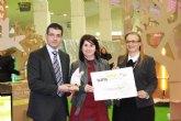 Premio al Mejor Stand del Sal�n del Tiempo Libre para la Mancomunidad Tur�stica de Sierra Espuña en Turismur 2011