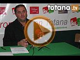 Rueda de prensa IU Totana sobre 'Pacto Social'