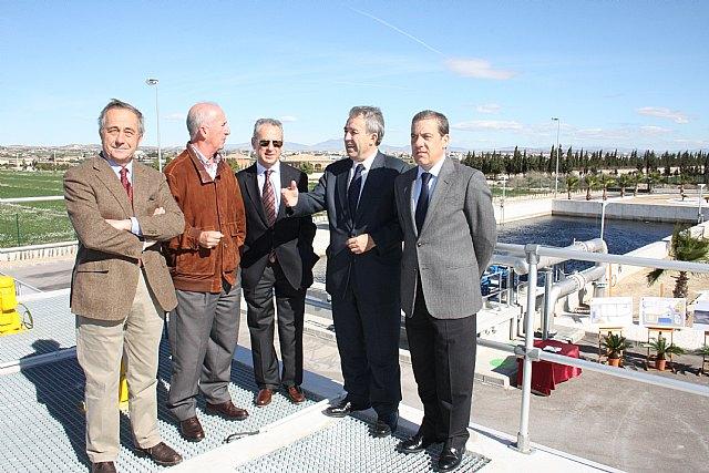 La Comunidad completa el proceso de depuración de aguas en Alcantarilla con el sistema terciario - 1, Foto 1