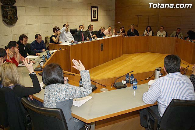 """IU: """"The City Council of Totana, with 13 votes of the PP, is a private legal action against Morales in the Case Totem"""""""