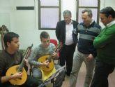 Rafael Gómez alaba el trabajo de las Escuela de Música de Puente Tocinos
