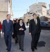 José Ballesta anuncia la rehabilitación de 100 viviendas en el Barrio Mudéjar de Pliego