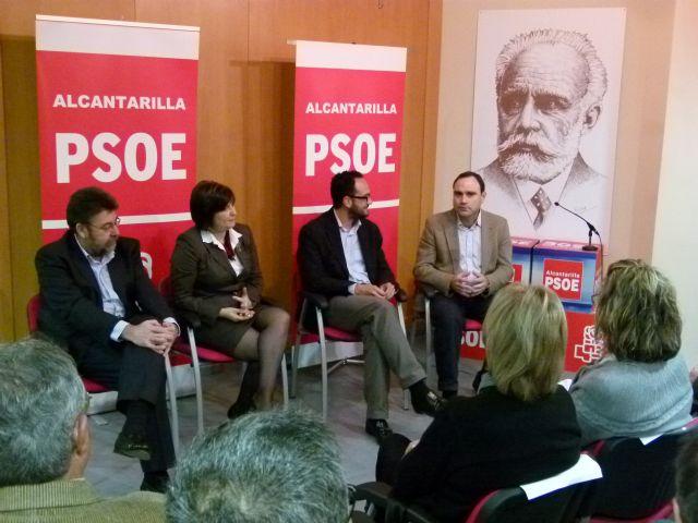 Antonio Hernando apoya la candidatura socialista que encabeza José Antonio Sabater - 1, Foto 1